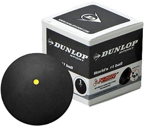 Pelota de squash Dunlop Competition: Amazon.es: Deportes y aire libre