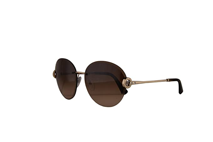 Bvlgari Sunglasses Authentic BV6091B Pale Gold wBrown