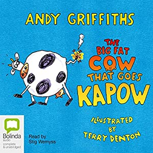 The Big Fat Cow Goes Kapow Audiobook