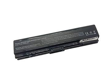 Batería de Repuesto PA3533U-1BRS PA3534U-1BAS PA3535U PABAS097 PABAS098 Compatible Toshiba Satellite A200 A300 A500 A505 L200 L202 L300 L305 Series Portátil ...