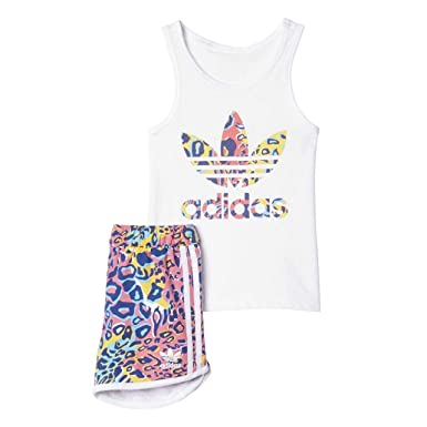 Adidas Girls Soccer Tank In Originals Infant White Set Vest nXk80wOP