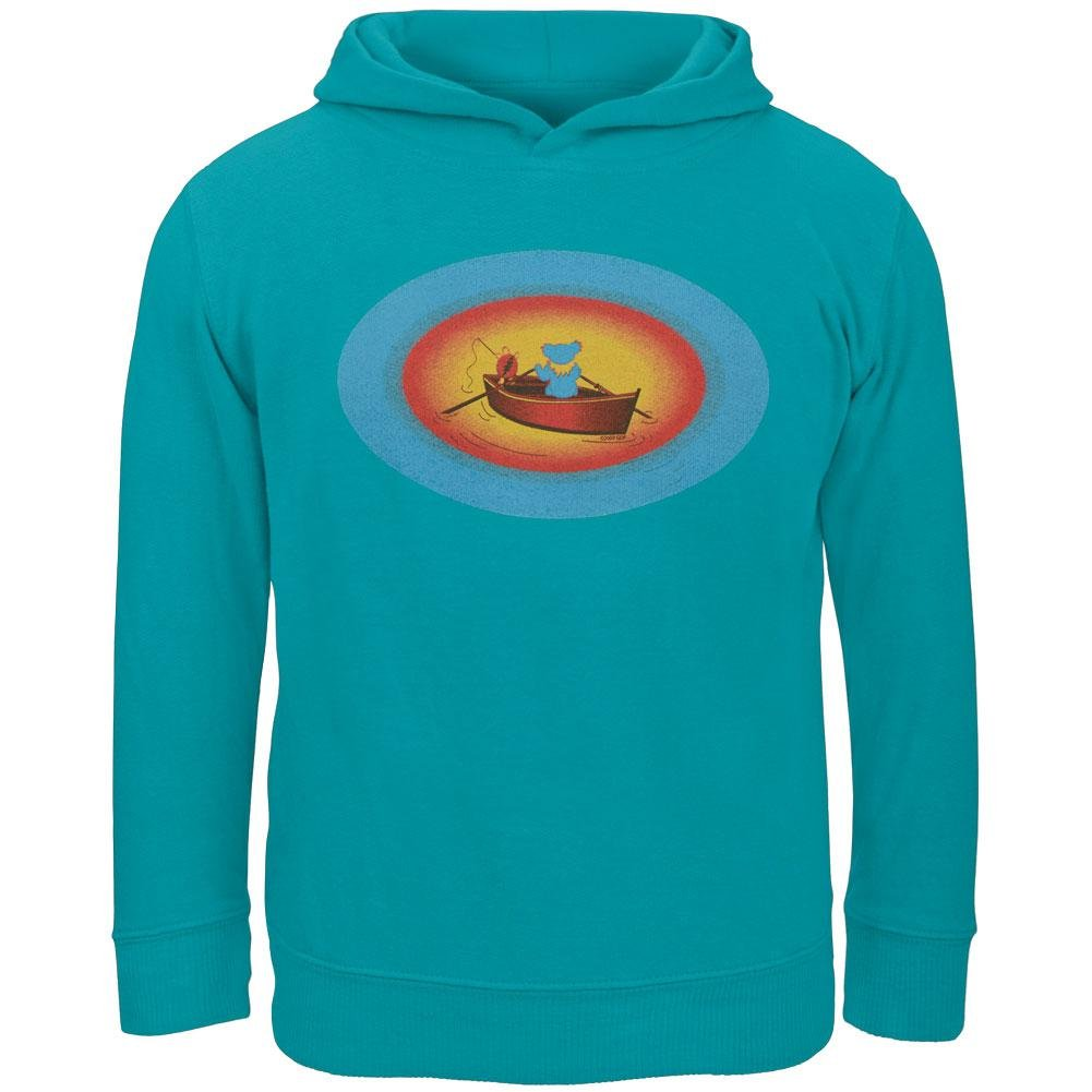 Grateful Dead Terrapin /& Bear Dinghy Turqoise Toddler Hoodie