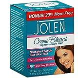 Jolen Creme Bleach Mild Formula Plus Aloe Vera 1/4 oz (Pack of 4)