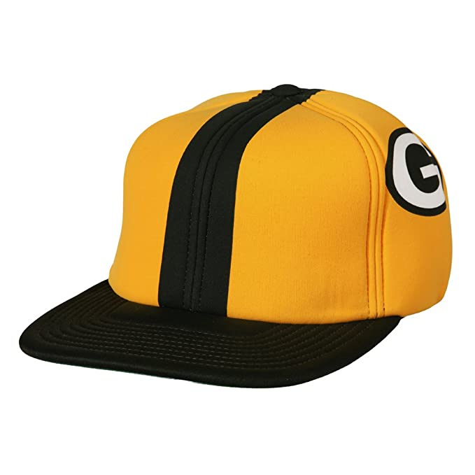 cb2f305f56102 Amazon.com  Green Bay Packers Foam Helmet Adjustable Snapback Hat ...