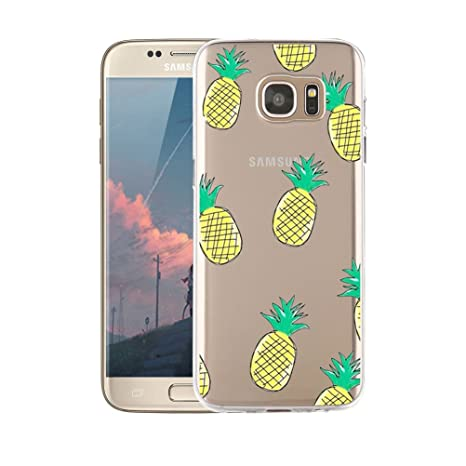 Coque Samsung Galaxy S7, blossom01 Cute Motif Premium TPU Souple Etui de  Protection  absorbant 7a17d8c09ca3