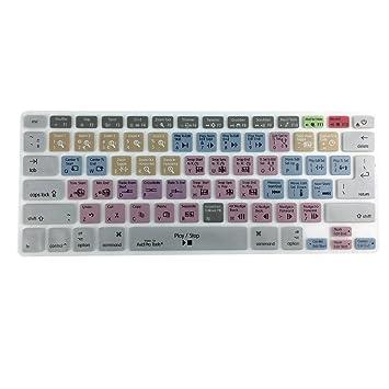 Avid Pro Tools Shortcut Keyboard Cover Skin for MacBook Air Pro 13 15 17