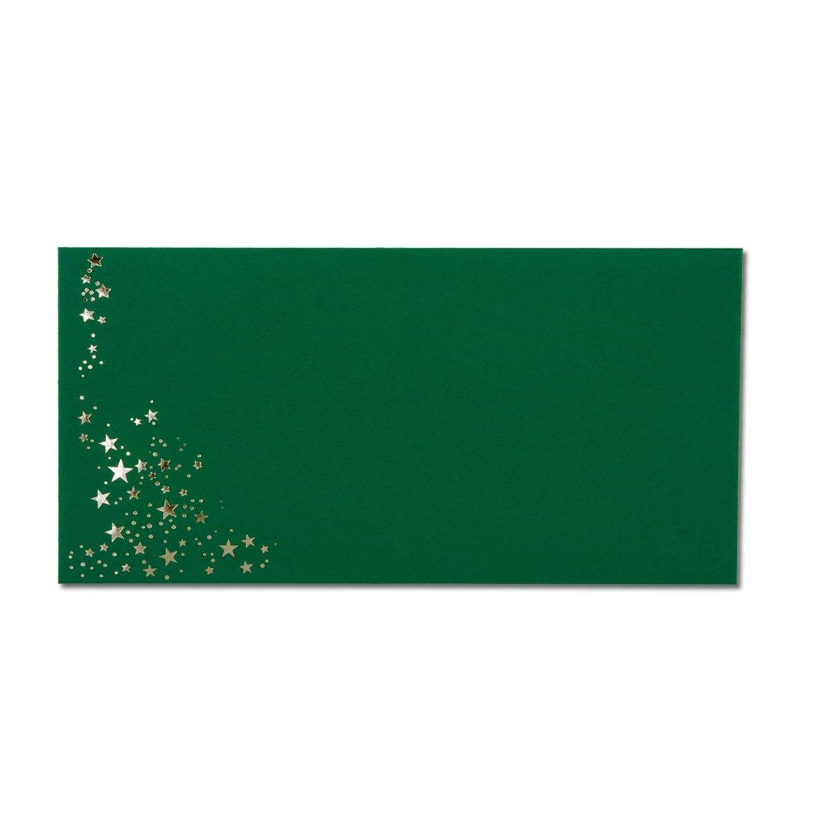 300x Weihnachts-Briefumschläge   DIN Lang   mit Gold-Metallic Gold-Metallic Gold-Metallic geprägtem Sternenregen   Farbe  dunkelrot, Nassklebung, 120 g m²   110 x 220 mm   Marke  GUSTAV NEUSER® B07CHMQ6J5 | Fein Verarbeitet  | Clearance Sale  | In hohem Grade ge a14a85