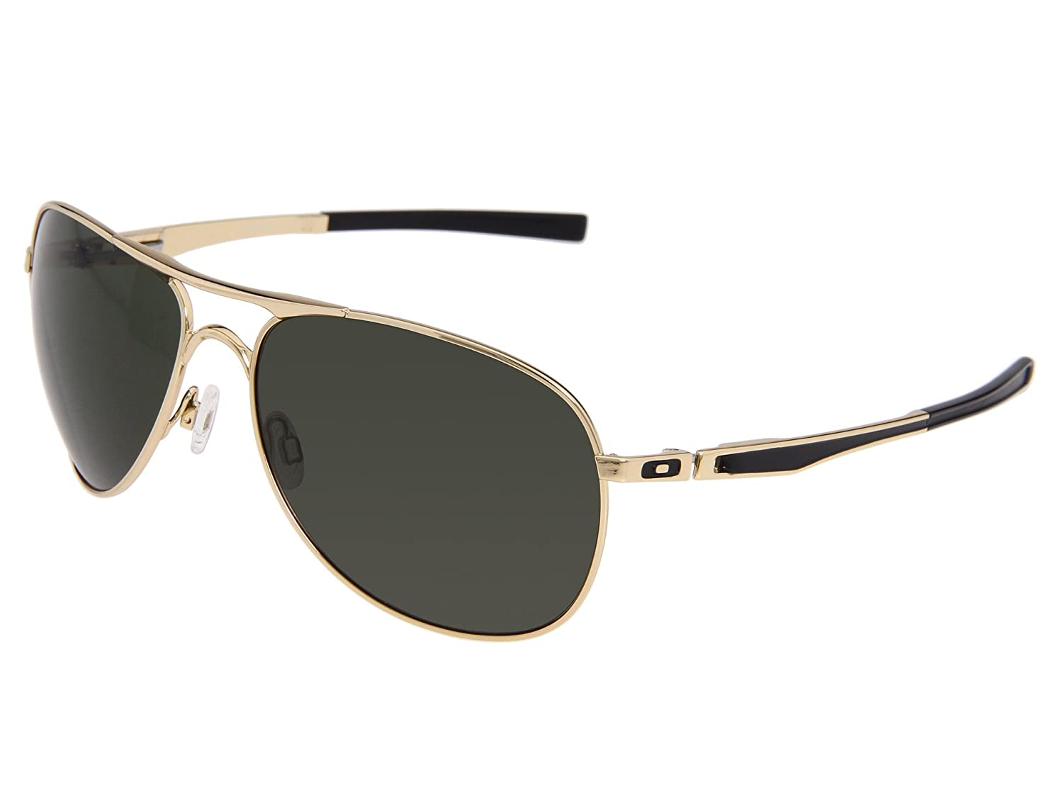 99c976bc70 Amazon.com: Oakley Plaintiff Sunglasses - Yuvraj Singh - Polished Gold  Frame / Grey Lens: Clothing