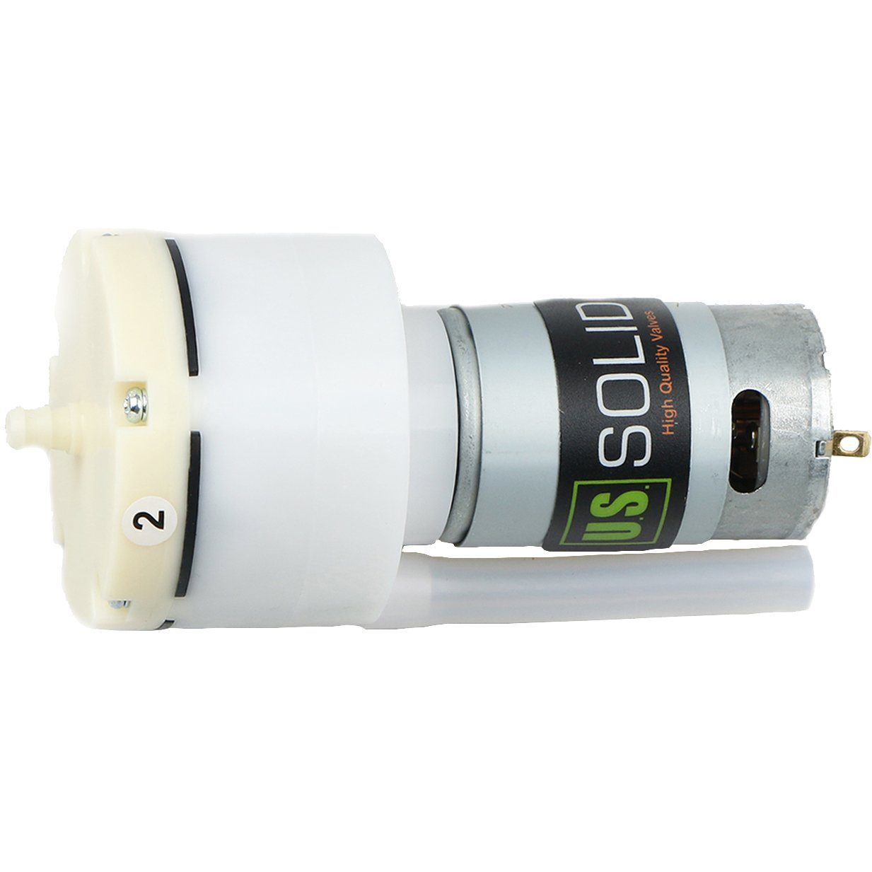 U.S. Solid Mini Air Pump- 24V DC Pump for Home Aquariums, Massage Chairs, Breast Milk Pumps, Sphygmomanometers, Essential Oil Diffusers, and More. Great Replacement Part for the DIY Person.