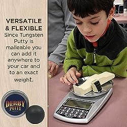 Tungsten Putty Pinewood Derby Weights & Fishing Lure Weight Sinker 2 oz from jinX