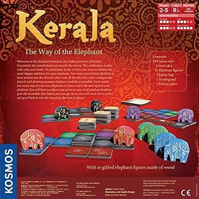 Thames & Kosmos Kerala (The Way of The Elephant) Game: Toys & Games