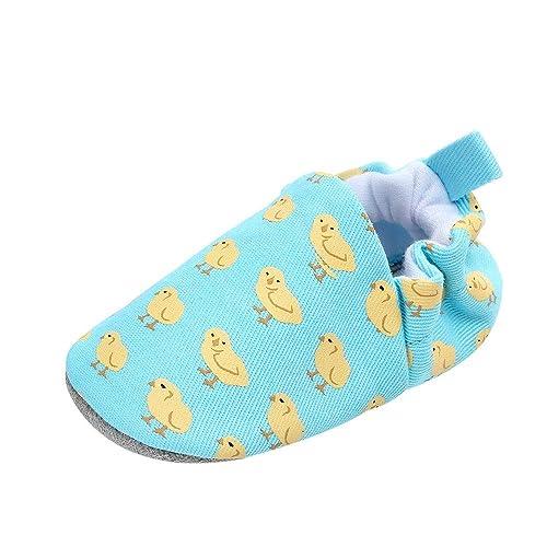 QinMM Primeros Pasos para Bebé recién Nacido Niños Niñas, Cartoon Animal Imprimir Suela Blanda Zapatos First Walkers