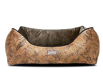 kingpets de la perrera Classic patrón perro cama gato cama: Amazon.es: Productos para mascotas