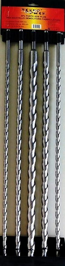 Dewalt dt9642/punte per trapano demolitore SDS Plus 8/X 210/X 140/mm 6/pezzi