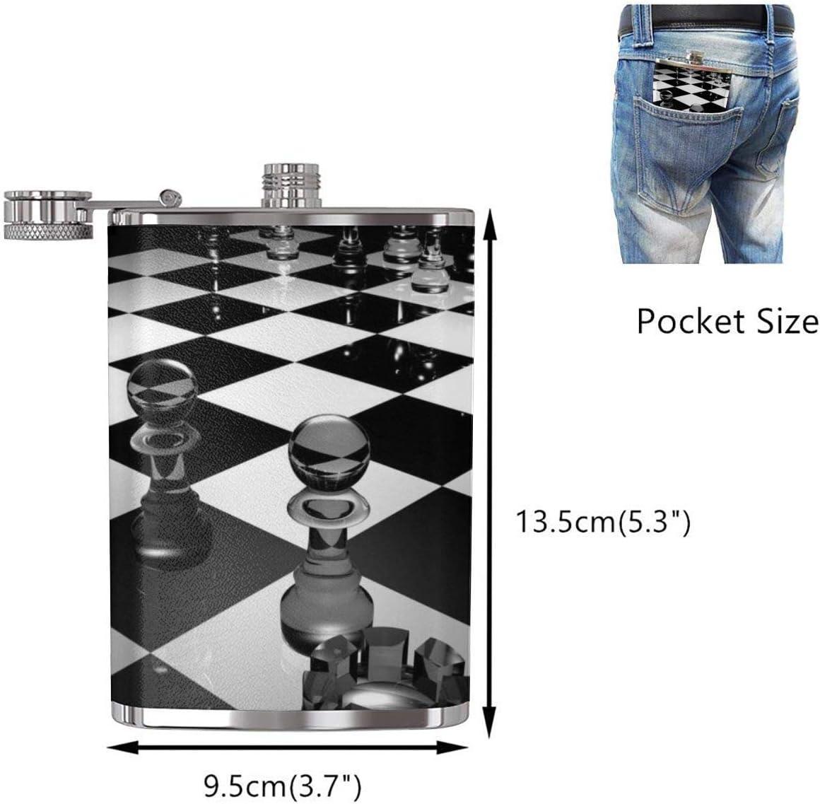 Frasco internacional de ajedrez XBYC 3D Abstract para licor y ...