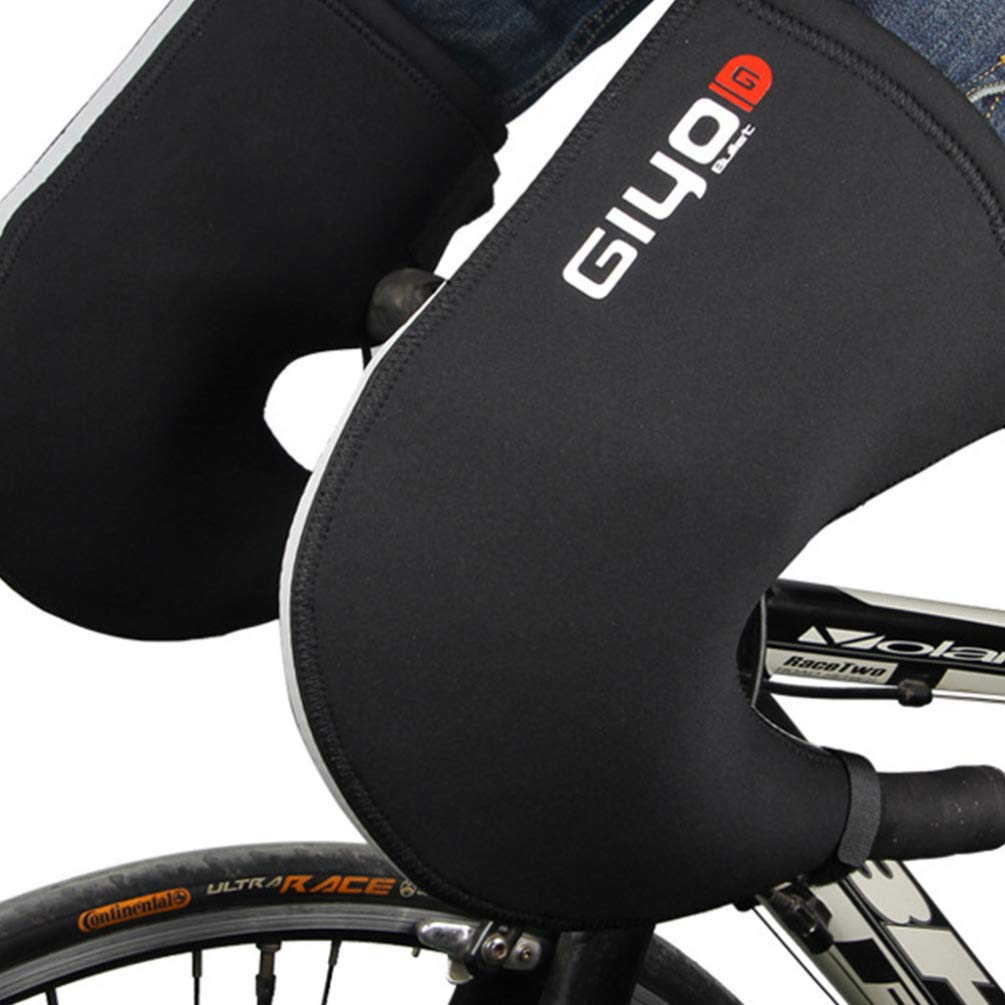 LIOOBO Bar Mitts Bike Handlebar Mittens Cold Weather Bike Motor Bar Covers Hand Protector Gloves for Bike Cycling