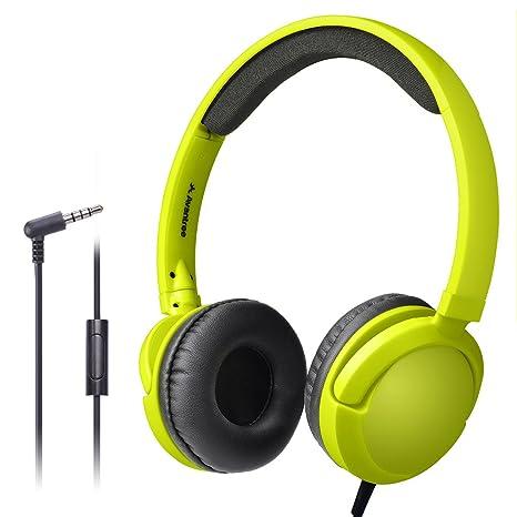 Amazon.com  Avantree Long Cord Wired Headphones with Microphone(1.5M ... 7de3f99395