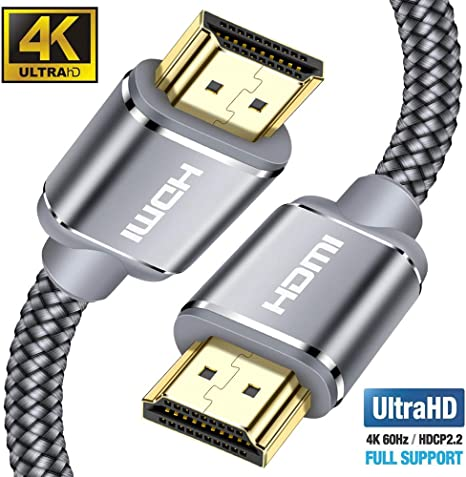 compatible with HDMI Cable 4K Ultra HD -4m HDMI Cord HDMI 2.0a//b, 2.0, 1.4a, 4K HDMI Cable, HDMI to HDMI, 4K@60HZ,1080p FullHD, UHD, 3D, High Speed with Ethernet, ARC, PS4, XBOX, HDTV KabelDirekt