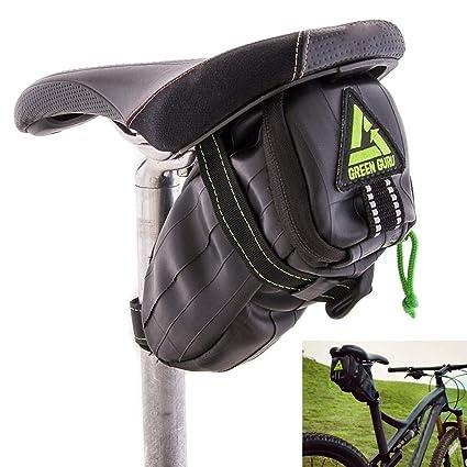 Amazon.com: Verde Guru Shifter Bolsa para sillín bicicleta ...