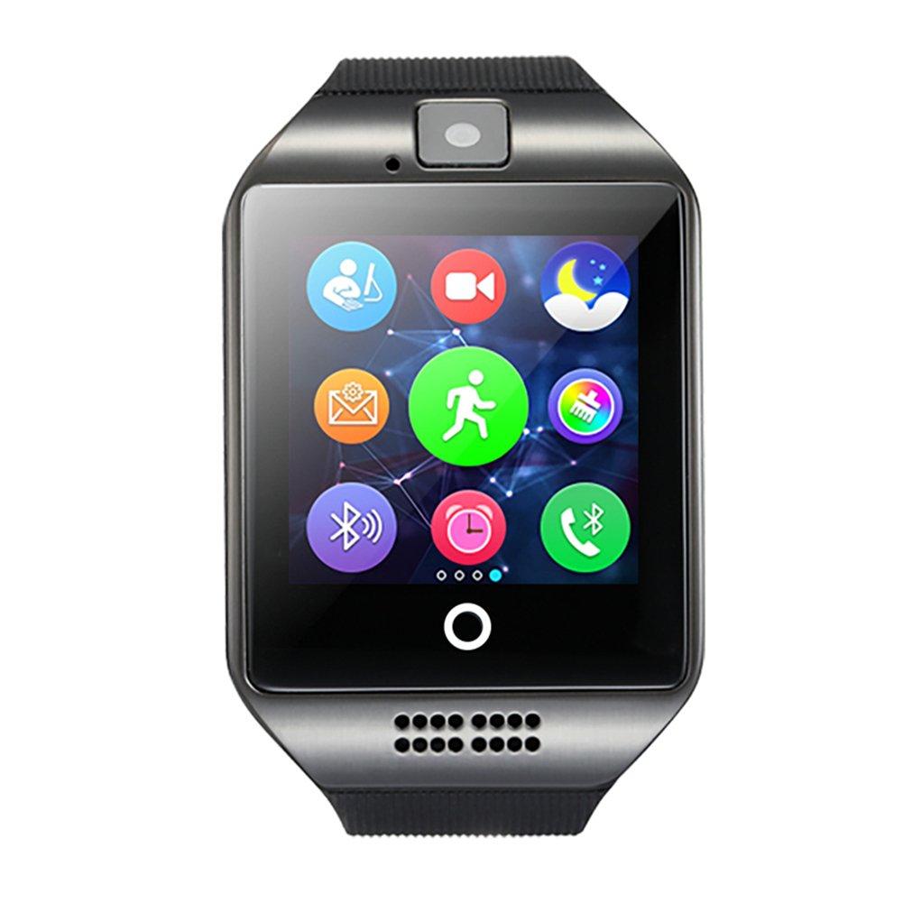 GreatCool Pantalla Arqueada NFC Bluetooth Reloj Inteligente Amarre Pulsera Smart Watch Compatible con Android Smartphone Soporta Llamada Mensaje SIM ...