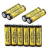 FlashDealer AA Battery 3.7V 1200mAh Rechargeable 14500 Li-ion Battery 10 PCS