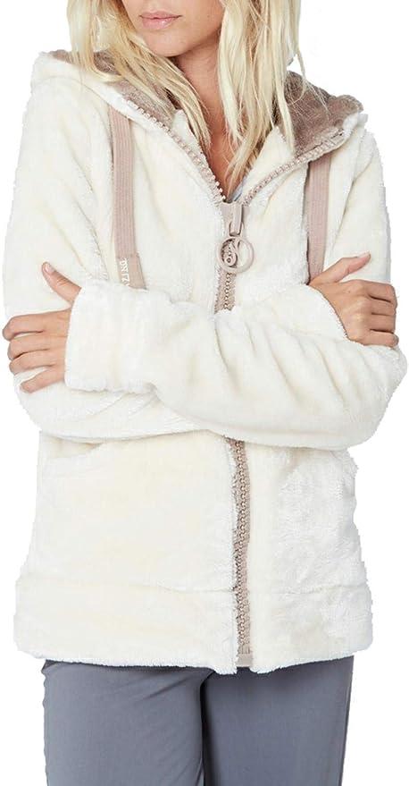nirvana veste fourrée femme oreilles de lapin