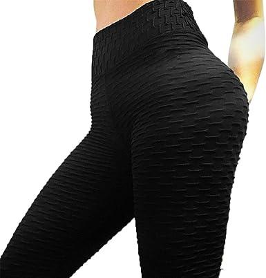 Women High Waist Yoga Shorts Jumpsuits Pants Push Up Leggings Workout Trousers S