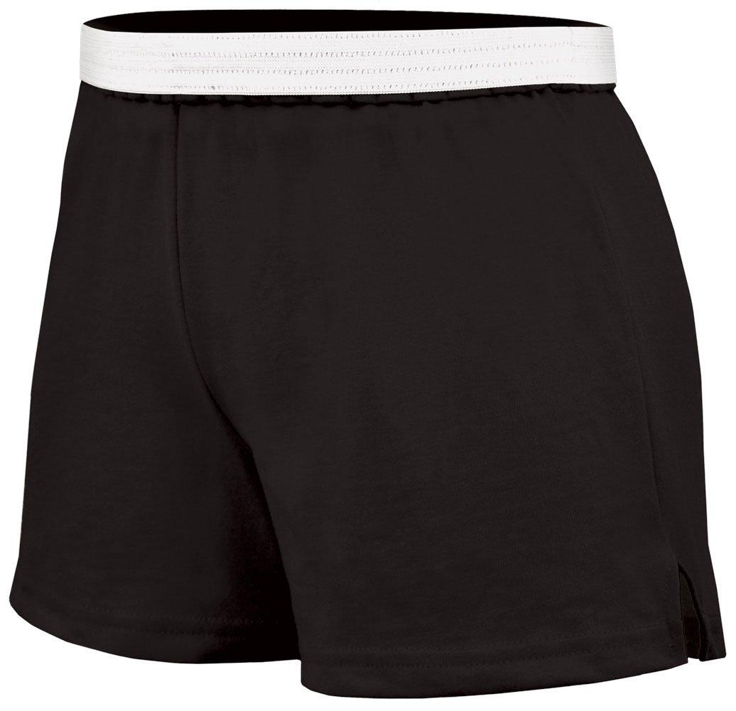 Soffe Juniors Athletic Short, Black, Small