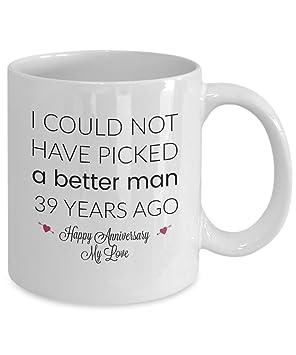 cfc62e53b 39th Wedding Anniversary Gifts for Him - Better Man - 39 Th Yr Year ...