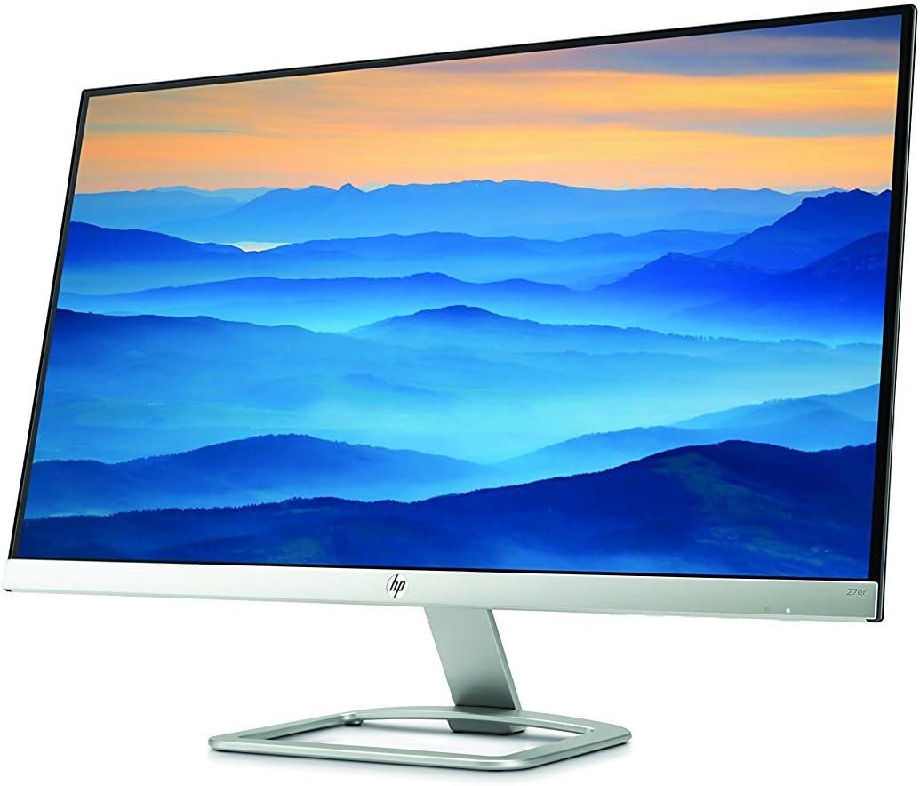 HP 27 inch 27er IPS LED Backlit Full HD Bezel-less Display Monitor