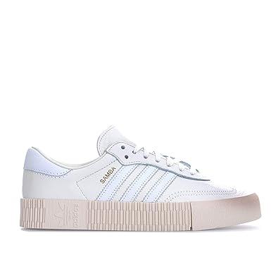 Weiß adidas Damen Damen Damen SambaRosa W Turnschuhe