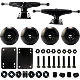 VJ 5.0 Skateboard Trucks, Skateboard Wheels 52mm, Skateboard Bearings, Skateboard Pads, Skateboard Hardware 1'