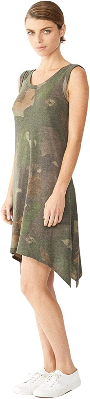 Alternative Womens Printed Sharkbite Dress