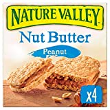 Nature Valley Nut Butter Peanut Biscuits, 4 x 38 g