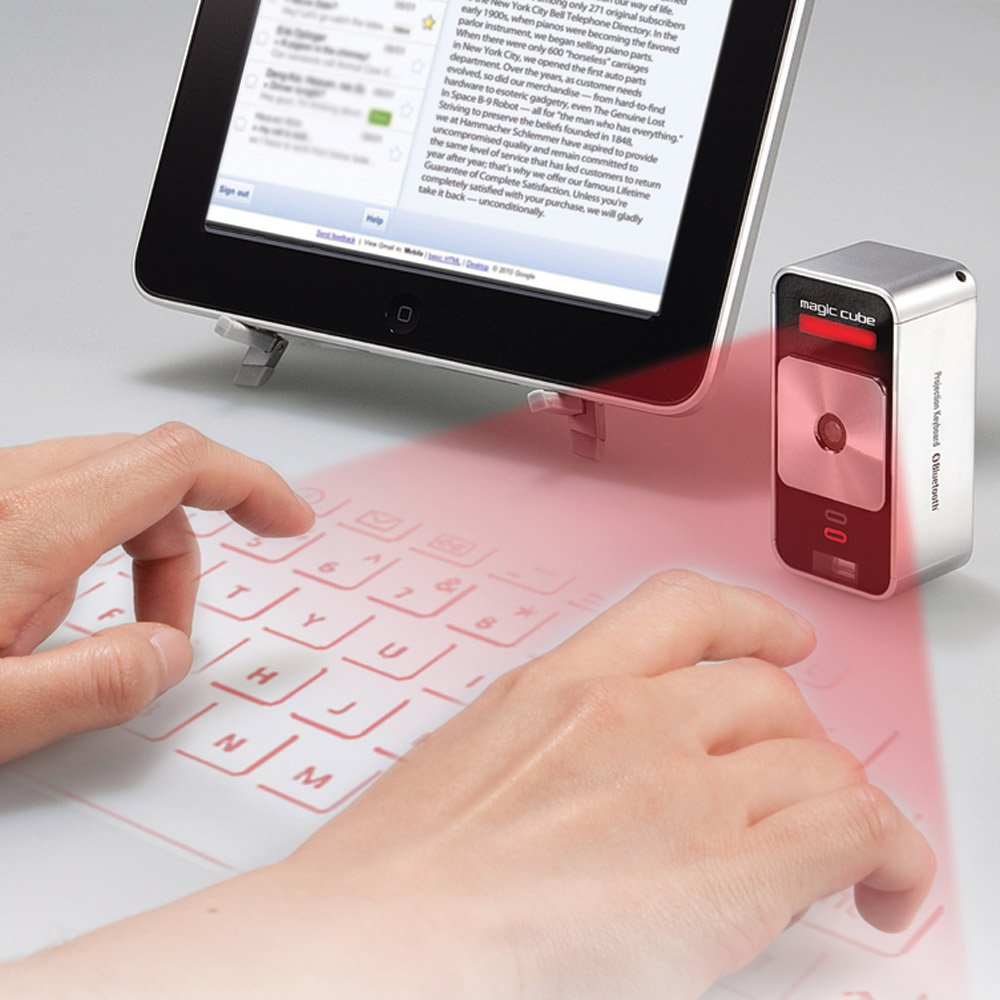 Wireless Bluetooth Virtual Laser Projection Keyboard for PC Laptop Tablet Phones