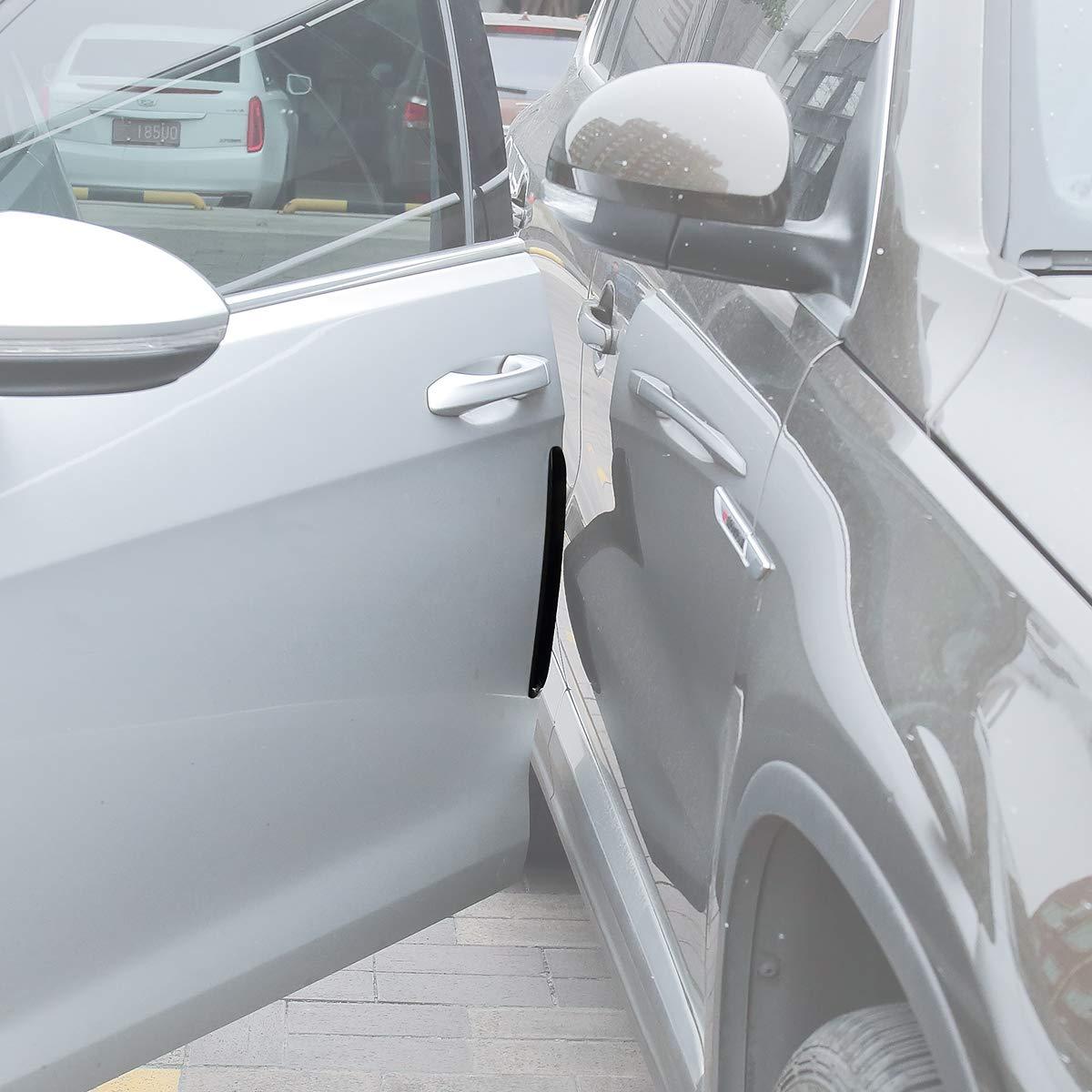 Bumper Protector Car Door Edge Guard 5D Carbon Fiber Wrap Film Waterproof Anti-Collision Strip for Car Door Guard//Front and Rear Bumper//Door Sill Protector 1.18in393in