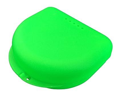 1ce94464628 Caja pequeña para ortodoncia, frenillos, aparato dental, protector bucal