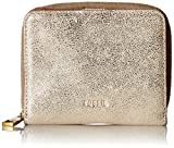 Fossil Women's Emma RFID Mini Multifunction Wallet, Metallic, One Size