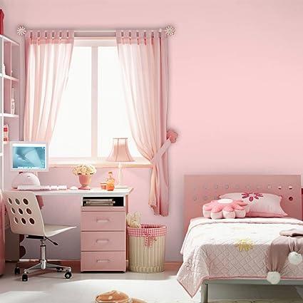 Pink Self Adhesive Wallpaper Creative Waterproof Pvc Wallpaper