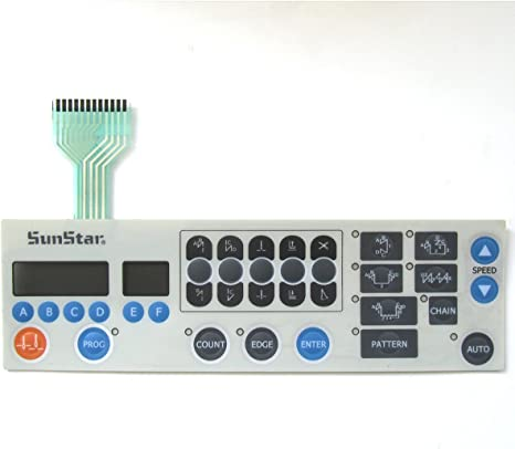 KUNPENG - membrana del panel de operación para SUNSTAR KM250 ...