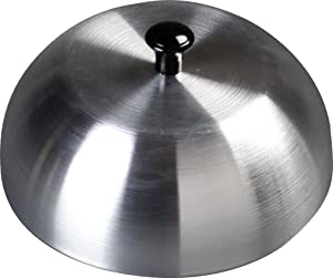 Carlisle 60103 Aluminum Burger Cover/Cheese Melting Dome, 6""