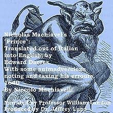 Nicholas Machiavelli's 'Prince' Audiobook by Niccolo Machiavelli Narrated by Professor William Landon, Dr. Jeffrey Lupo