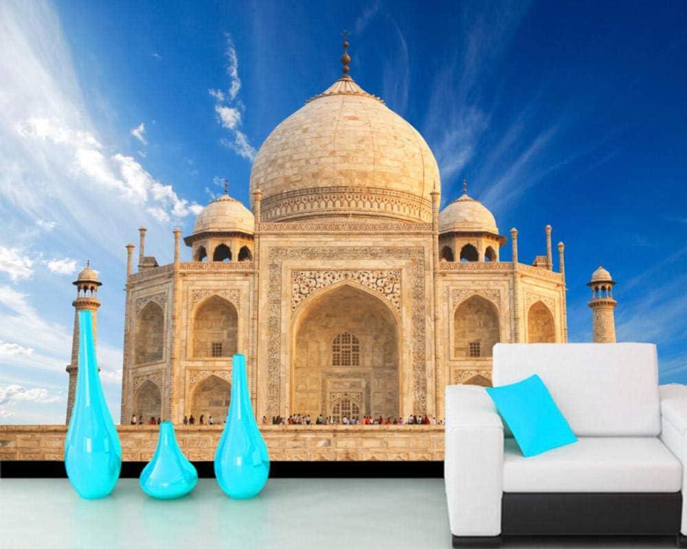 Taj Mahal Fotomurales Landmark India Papel Pintado Salón dormitorio Decoración