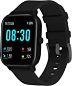 Smart Watch for Android and iOS Phone Fitness Trackers with Heart