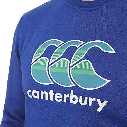 CANTERBURY CCC GRAPHIC LOGO CREW SWEAT RUGBY 2015/16 COD. E553332 X06