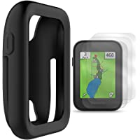 TUSITA Protective Cover for Garmin Approach G30 Handheld Golf GPS, Silicone Skin Case Accessories with Screen Protector