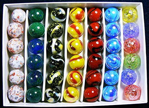 (NEW EDITION) Astronomy Collectors Box Set Of 42-5/8' Marbles Each Marble Represents an Aspect Of The Universe