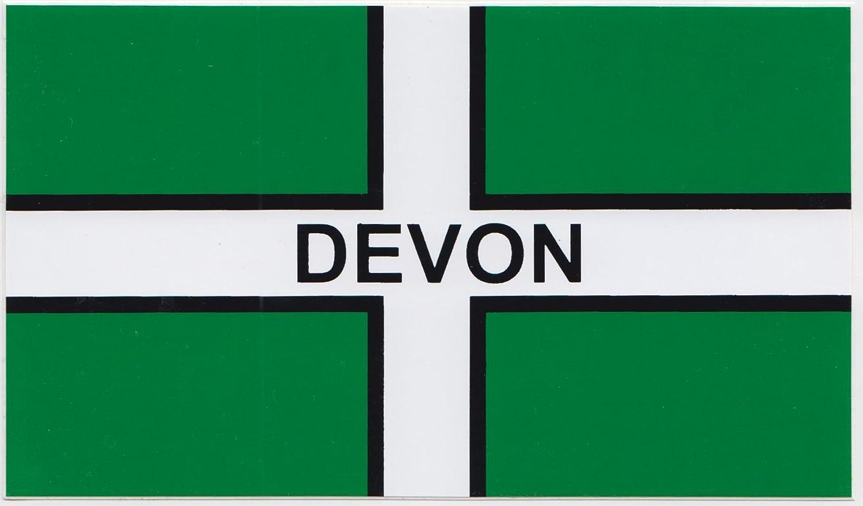 Devon Surfers Surfboard External Car Window Bumper Sticker Made /& Sold in Devon