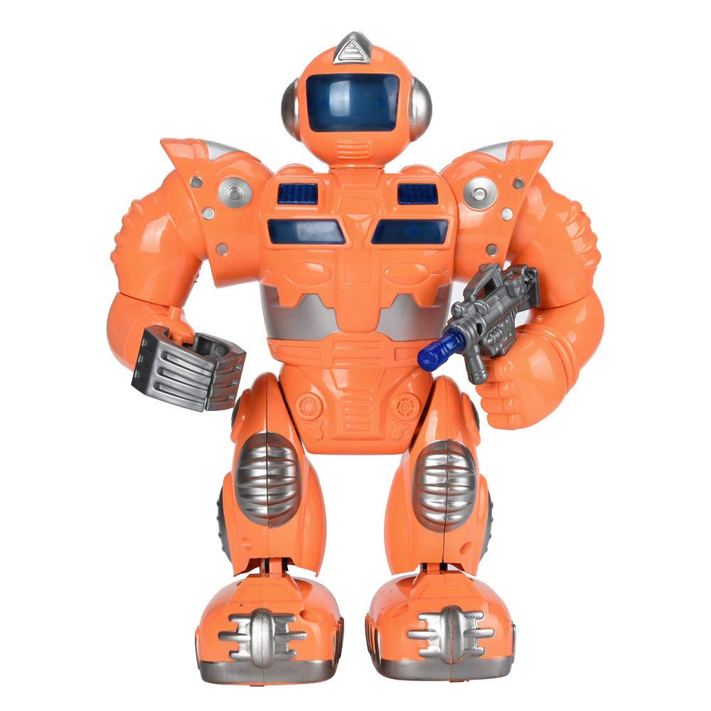 Oasics Robot teledirigido para niños, Robot Inteligente para niños, Juguete electrónico con música y luz, función de Sonido y música, para niños y niñas