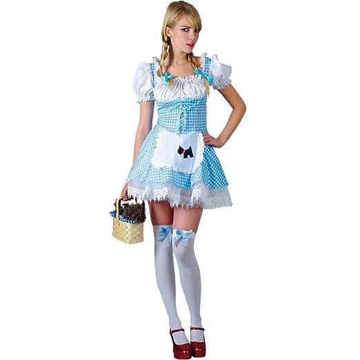 Storybook Dorothy - Adult Costume Lady Small (UK10-12) Amazon.co.uk Toys u0026 Games  sc 1 st  Amazon UK & Storybook Dorothy - Adult Costume Lady: Small (UK:10-12): Amazon.co ...